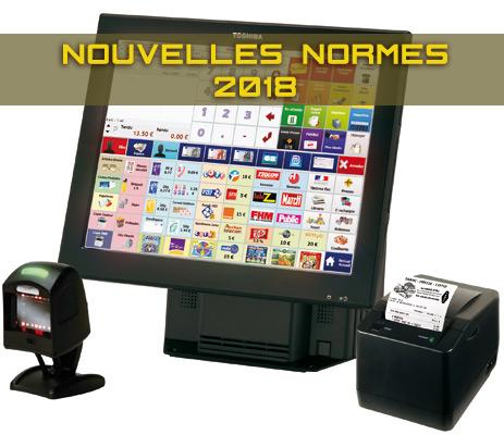 caisse enregistreuse nouvelles normes 2018